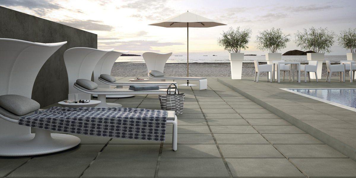 Materiali per esterno pavimenti e rivestimenti fiandre - Piastrelle balcone ...