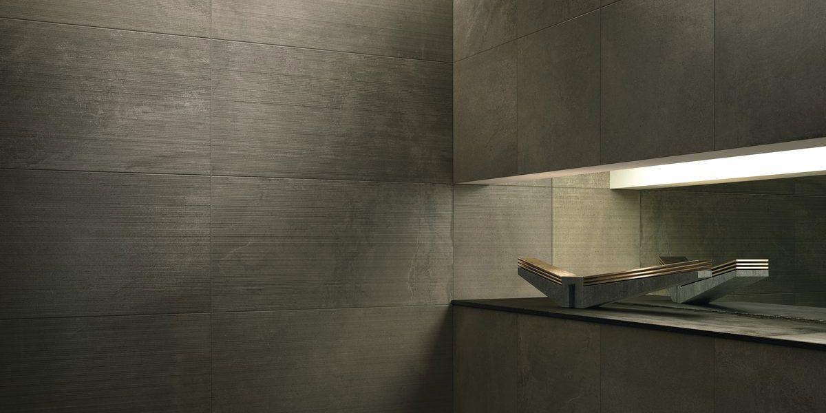 Snug core Core shade, gres porcellanato effetto resina/cemento marrone