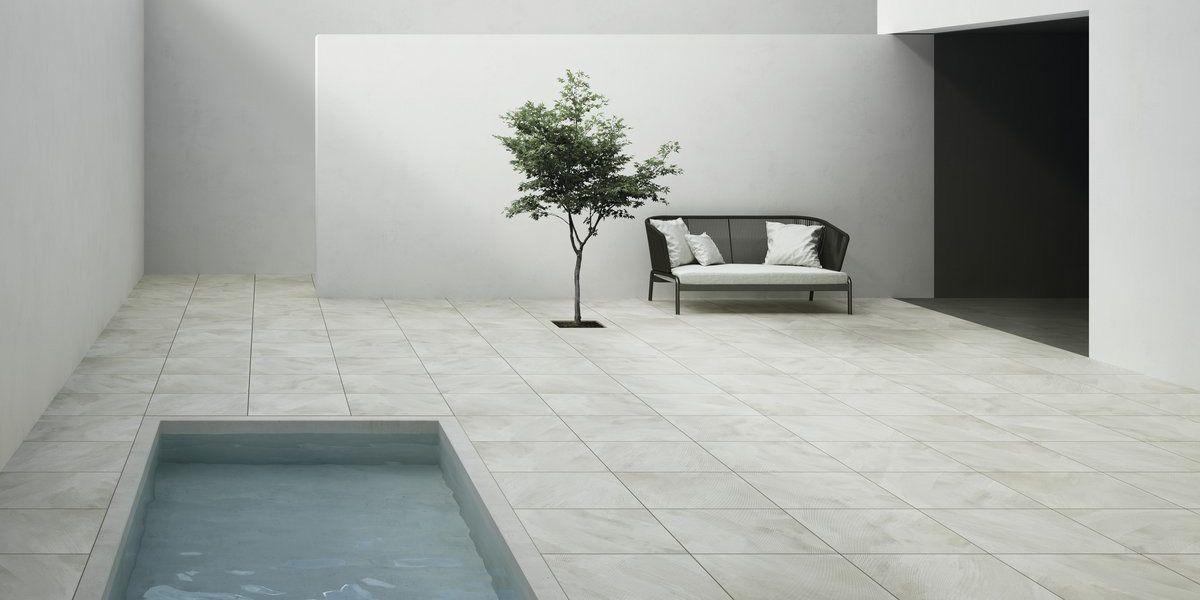 Piastrelle in gres porcellanato grigio 350f frost fahrenheit - Posa piastrelle 120x60 ...