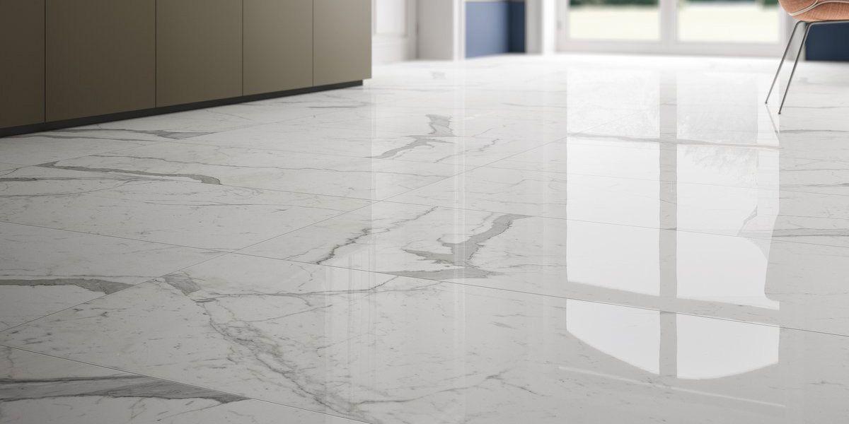 Calacatta Statuario Marble Lab Gres Porcellanato Effetto