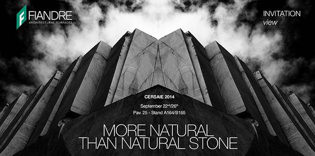 MORE NATURAL THAN NATURAL STONE | CERSAIE 2014