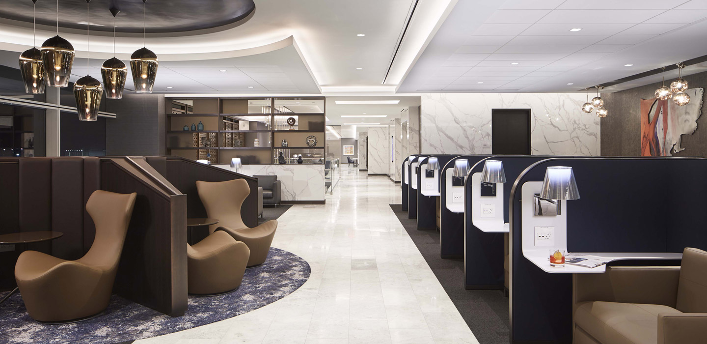 Stazioni e aeroporti - UNITED AIRLINES POLARIS LOUNGES